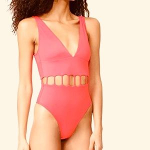 Other - Peixoto Swimwear Jade One Piece - Pink NWT